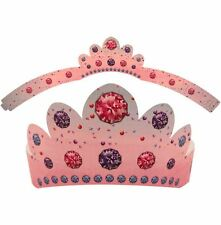 QUEEN PRINCESS PAPER CROWN HAT CHILDRENS KIDS FANCY DRESS PARTY BAGS FILLERS TOY