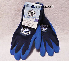 Blue Chilly Grip Heavy Duty Cold Weather Multi-Purpose Work Gloves  [L] or [M]
