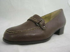 Dr Scholl Backguard 'Corinne' Ladies Brown Leather Slip On Shoes.