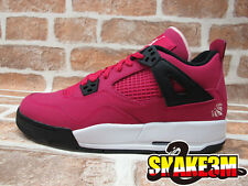 DS NIKE AIR JORDAN 4 IV RETRO GS VOLTAGE CHERRY VALENTINE  PINK  487724-601