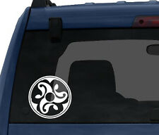 Celtic Stone #3 - Wandsworth Shield Style Celt Ornament - Car Tablet Vinyl Decal