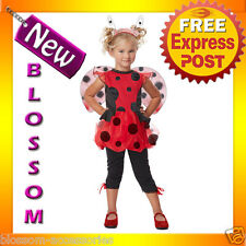 CK84 Cute As Bug Toddler Lady Bug Fancy Dress Book Week Kids Costume