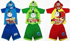 Thomas & Friends Cotton Dress Fancy Outfit Set T-Shirt+Shorts Size XS-M age 2-5
