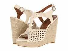 Lucky Brand Womens Rilo Natural Off White Casual Platforms Wedges Sandals