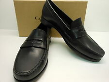 """NEW COLE HAAN ALEXA 3/4"""" SOFT BLACK LEATHER CLASSIC STYLE PENNY LOAFERS"""