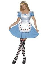 WOMENS DECK OF CARDS GIRL COSTUME,8,10,12,16,18 PLUS SIZE, ALICE IN WONDER LAND,