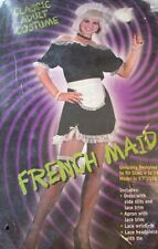Fun World Classic FRENCH MAID Adult Costume