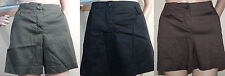 NWOT THE LIMITED cassidy fit pleat front green,brown,black short shorts,10,12