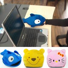 Winter PC laptop USB rubber Hand Heating Warm Mouse Pad downy warmer mouse Mat