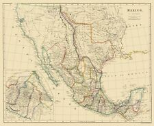 MEXICO AND SURROUNDING TERRITORIES BY J. ARROWSMITH 1844