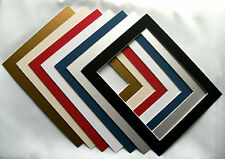 Square Photo / Picture Mounts various sizes and colours