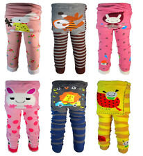 Baby toddler leggings boys girls  Warmer socks Knitted PP pants A-F2 Type