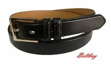 MEN CASUAL /DRESS Slim LEATHER BELT BLACK Closing out sale $1.00