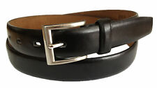 MEN New Fashion CASUAL /DRESS LEATHER BELT one piece Black S / M / L / XL $4.95