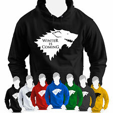 STARK Winter is Coming HOODIE Inspired by Game of Thrones ASOIAF Winterfell Arya