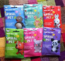 SPIRAL PETS; Papercraft ORIGAMI, PAPER PETS, Assorted Designs | Stocking Filler