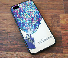 Live Adventurously Balloons Case Cover for iPhone 4 4s 5 5s - Rubber or Plastic