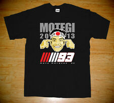 New Marc Marquez 93 Motegi Japan Tribute Moto gp Racing Black White T-shirt Tee