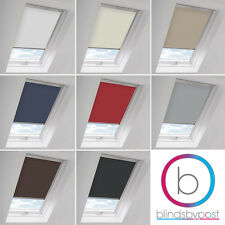 BLACKOUT ROOF SKYLIGHT ROLLER BLINDS FOR EVERY KEYLITE WINDOW - MADE IN THE UK