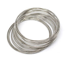 Wholesale Lots Memory Beading Wire 40mm-45mm Dia. 0.6mm thick