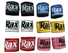 R A X Boxing MMA inner hand wraps bandages inner punch bag boxing fist gloves