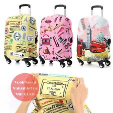 Travel Luggage Protective Cover Carrier Bag Suitcase Top Passport Case Holder