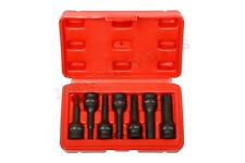"3/8"" DRIVE BLACK IMPACT HEX ALLEN BIT SOCKET DRIVE TOOL SET FOR WRENCH"