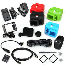 HDMI Cable Strap Frame Mount Battery Charger For GoPro HD Hero 3+ 3 Accessories