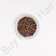 200 400 1000 Copper 100% Nano Micro Rings Beads for use W/ Nano Hair Extensions