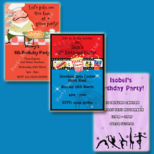 Personalised Childrens Activity Party Invites