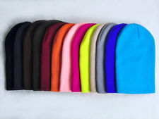 Hat Knit Ski Cap Winter Blank Beany Beanie Colorful Black Friday on sale 1pcs #M