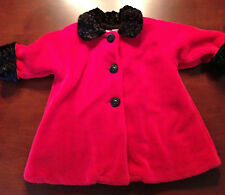 Corky and Company Red Dress Coat Size 3T