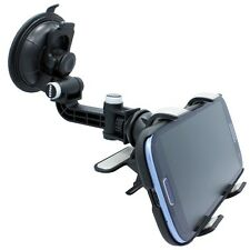 ROTATING CAR MOUNT WINDOW PHONE HOLDER AUTO WINDSHIELD DOCK CRADLE for SPRINT