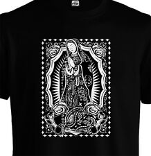 Kids T shirt The Our Lady Of Guadalupe Virgin Mary Bandana Paisley Rhude Cali