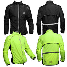 Tour de France,Cycling Coat,Wind Coat,Rain Coat,Long Sleeve, Green/Black M~3XL