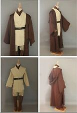 Star Wars Obi-Wan Kenobi Jedi Knight Costume Cloak Suits  Halloween Xmas Cosplay