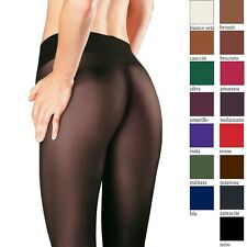 Trasparenze Sabina 40 Den Semi Opaque low rise pantyhose/tights with thong back