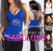NEW SEXY 6-8-10 WOMEN'S TOP EVENING PARTY SHIRT TOPS FOR LADIES ONLINE SHOPPING
