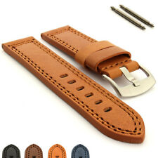 Mens Genuine Leather Watch Strap Band Waterpoof CONSTANTINE, Pan. Style