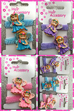 GIRLS PACK OF TWO FAIRY'S HAIR PONIOS TIES BAND BOBBLES