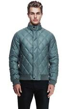 New Armani Exchange AX Mens Muscle/Slim Fit Diamond Quilted Jacket