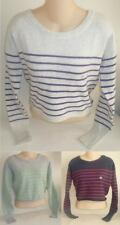 Womens AEROPOSTALE Striped Pullover Sweater NWT $49.50 #9162