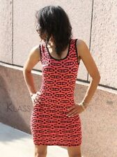 Twisted Jewel bodycon dress, red ~ tribal evening party mini bodycon +YOUTUBE