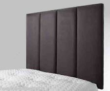 "Oslo Bed Headboard 2'6"" 3' 4' 4'6"" 5' 6' Faux Leather Choice 7 Colours New 26"""