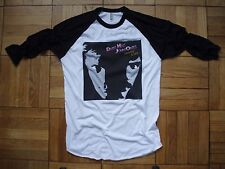 vintage style Hall and Oates t-shirt jersey raglan aa brand new size XS-XL