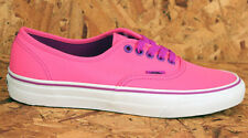 Vans Trainers Authentic Neon Pink 3 - 7 Worldwide