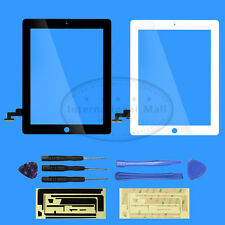 Touch Screen Glass Front Panel Digitizer Replacement for IPAD 2 +7 PCS Tools Kit