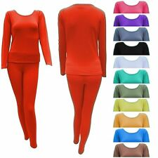 Women's Ultra-Soft Warm Fleece Lined Wicking Thermal Underwear Set Long John
