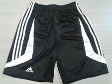 ADIDAS WOMENS TEAM BASKETBALL SHORTS (CLIMA 365) BLACK/WHITE  BNWT SMALL TO XXL