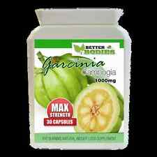 Garcinia Cambogia MAX Strength 1000mg Extreme Weight Loss Slimming Diet Bottle